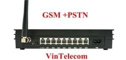 China PBX factory VinTelecom MS108-GSM Mini PBX/ PABX Switchboard/ Centralino PABX / Wireless PBX Phone system - 2016 new