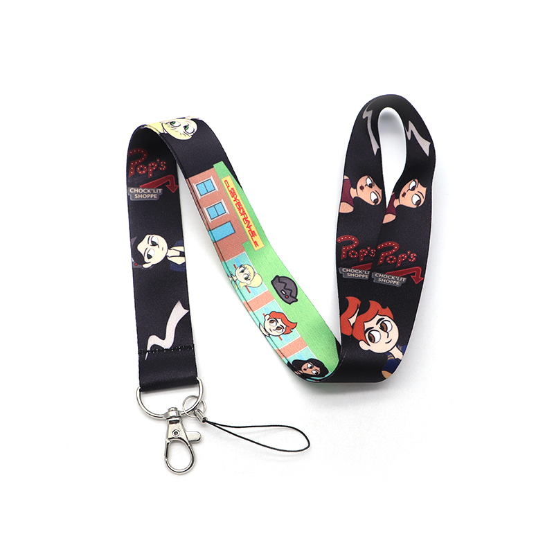 Riverdale South Side Serpents Cell Phone Rope Chain Strap Clip Lanyard Key chain