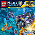 LEPIN Nexus Knights Building Blocks The King Mech Assemblage figures Buildable Figures Toys