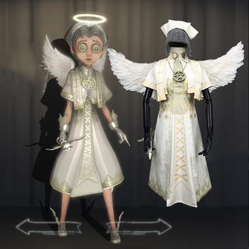 Hot Game Identity V przebranie na karnawał lekarz Emily Dyer przebranie na karnawał ocalałych przebranie na karnawał nowy kolor skóry święty anioł strój tanie i dobre opinie Kostiumy gegexli WOMEN Zestawy uniform cloth as shown