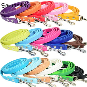 PU Leather Walking Rope Dog Leash for Small Medium Large Dogs Harness Leash Running Safe Dog Belt Pet Dog Collar Long Lead Leash customized name phone dog collar leash rope christmas decoration pet necklace with bow tie walking dog straps adjustable buckles