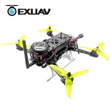 EXUAV EX260 Quadcopter Mini Aerial Photo RC FPV Drone Meals 260mm Wheelbase 3K Pure Carbon Landing Gear Fiber Arm Frame H-TYPE