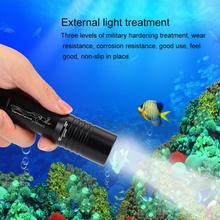 Handheld Zoomable LED Flashlight Underwater linterna led 1200LM T6 LED Diving Flashlight Waterproof 18650 Battery Power 2016 new underwater diving flashlight 3x xpe uv led linterna buceo waterproof torch 395nm 400nm purple led flash light by 18650