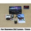 Para Daewoo Lanos Lanos Para ZAZ/Sens/Lâmpada de Advertência alarme A Laser Luzes de Nevoeiro/Anti-Colisão Traseira Lanterna Traseira Acessórios Auto LEVOU