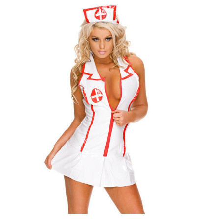 Sexy Costumes dress Summer Erotic Lingerie Brand New Nurse Costume Disguisement Cheap For Party Dating New 2018 ouc1003