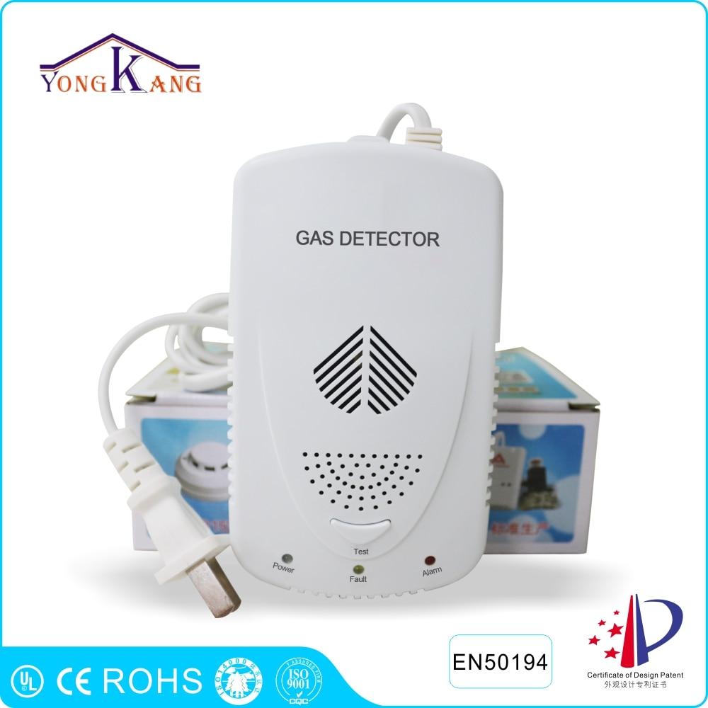 bilder für Yongkang Home Küche Sicherheit Brennbares Gas-detektor LPG Lng Kohle Gas-leck Alarm Sensor