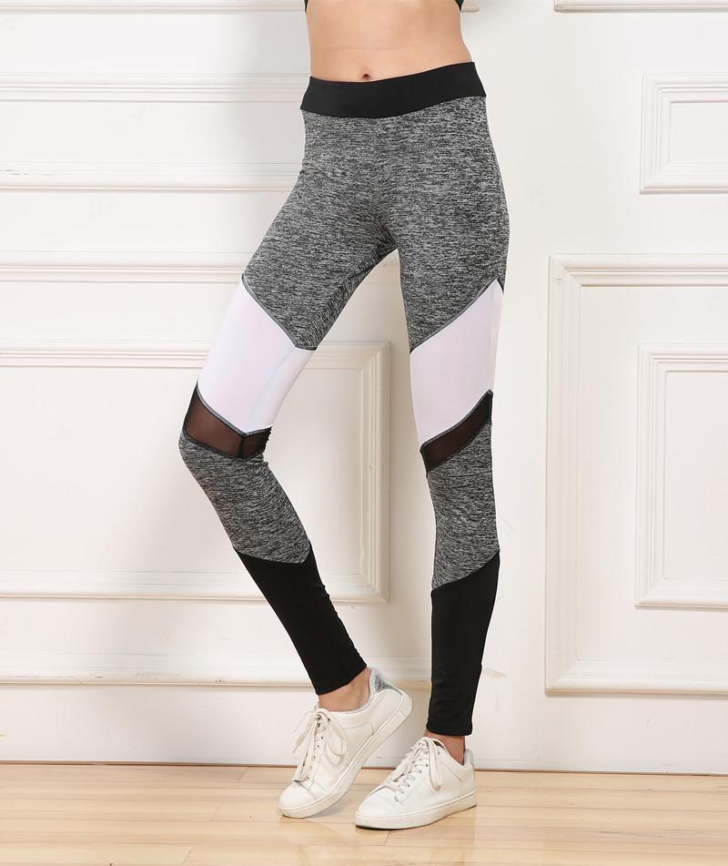 Mesh Cutout Workout Leggings