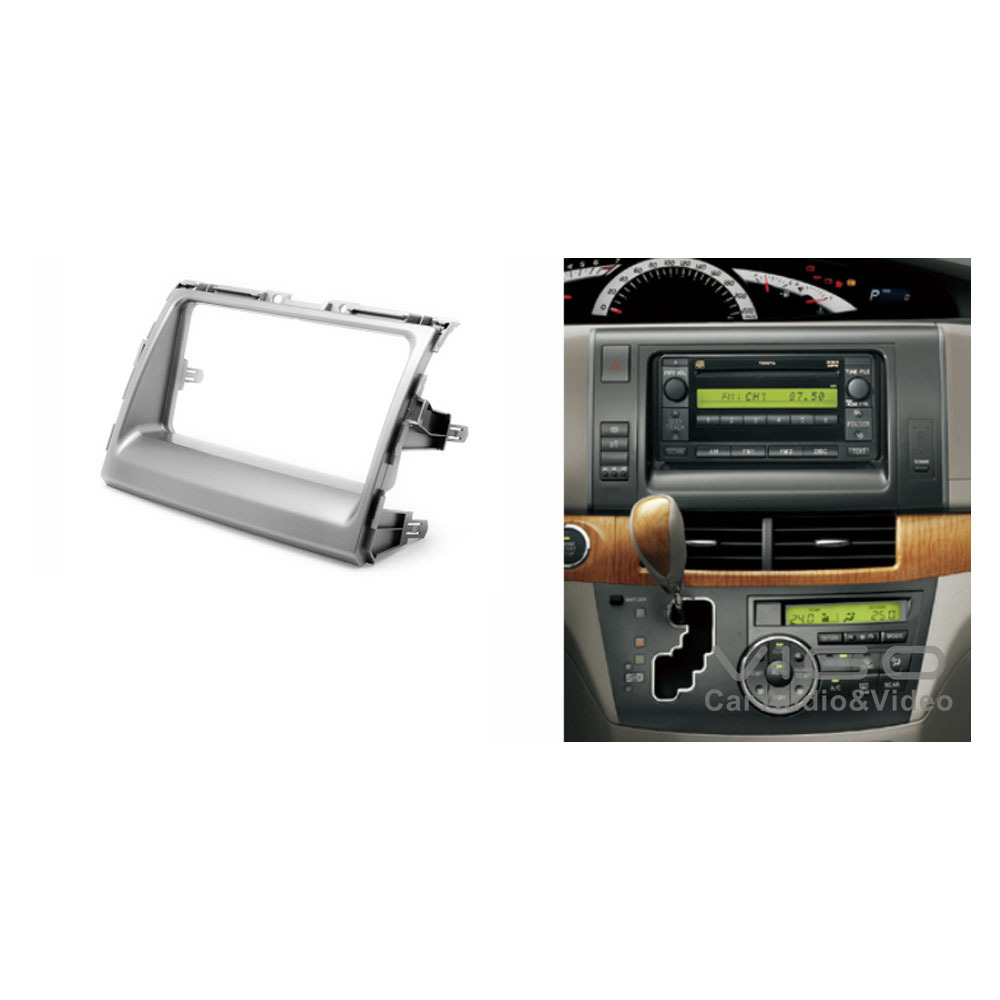11 199 Car Radio Facia For Toyota Previa Tarago Estima Stereo Dash Single Din Install Mount Kit With Wiring Fit Installation Fascia Face Plate Panel Frame Double In Fascias From Automobiles