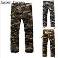 Free Shipping Men's MMA Camo Cargo Multi-pocket pants Mens casual matchstick trousers Men military Camouflage trousers pants65