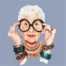 אופנה סבתא PVC תיקון להתמודד עם זה בגדי חום העברת הדפסת T חולצת נשים ברזל על תיקוני בגדי בד מדבקות