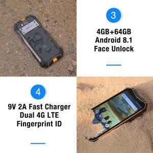 "Image 4 - Ulefone armor 3t ip68 celular à prova d água, android 8.1, tela 5.7 ""fhd +, helio p23, octa core, 4gb walkie talkie 21mp, smartphone 64gb"