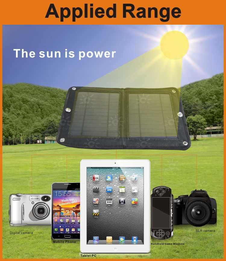 Outdoor travel solar charger