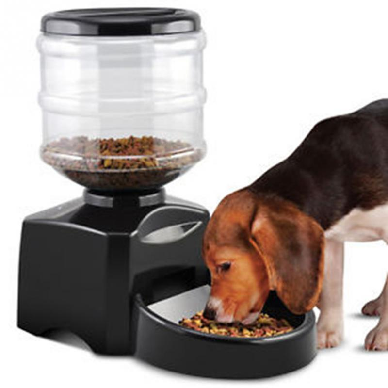 Automatic Pet Feeder Programmable Timer Food Station