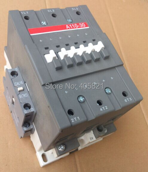 A110-30 AC contactor 3Pole 1NO+1NC magnetic contactor 3 pole ac 0 63a 1a electric thermal overload relay 1 no 1 nc