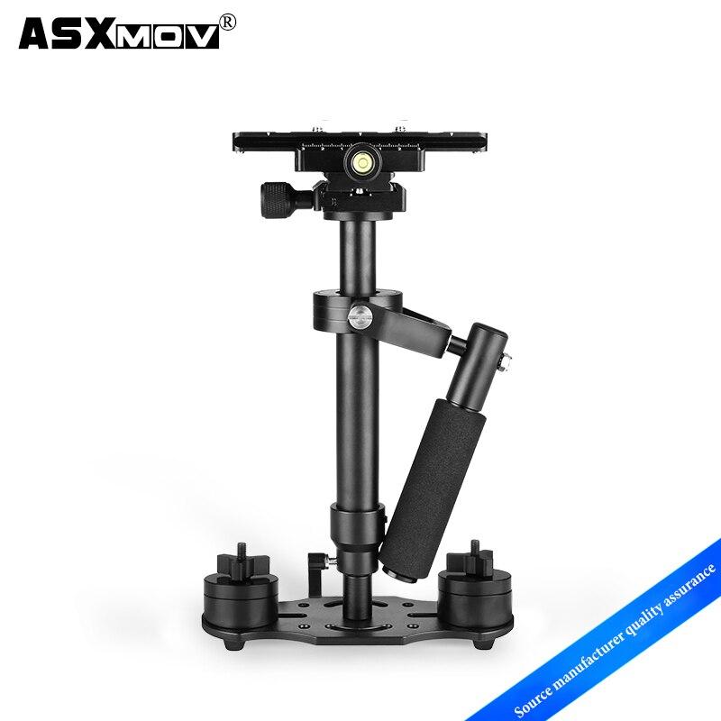 Nuevo mini estabilizador de cámara de vídeo portátil dslr para videocámaras profesionales, SLR, cámaras DSLR y DVs, etc.
