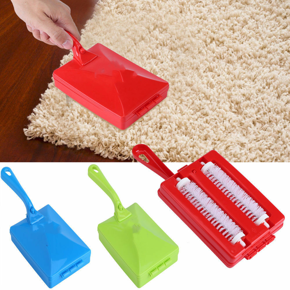 Carpet Crumb Brush Collector Hand Held Table Sweeper Dirt Home Kitchen Cleaner image