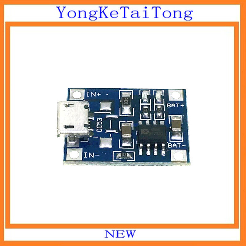 5PCS/lot TP4056 1A Lipo Battery Charging Board Charger Module Lithium Battery DIY Mini USB Port