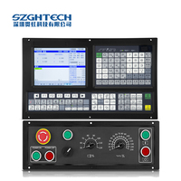 Built in standard PLC program,CNC 4 axis milling machine of cnc motion control system