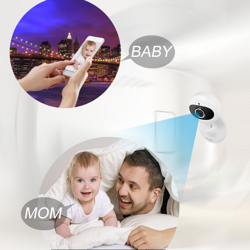 US $59 99  Wansview 1080P Wireless IP Camera, WiFi Home Security Camera for  Baby/Elder/Pet Monitor with Night Vision and Two way Audio-in Surveillance