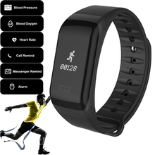 New Blood Oxygen Monitor Smart Bracelet Bluetooth Fitness Track Wristband Heart Rate Smartband for iOS and Android Smart Watch цена
