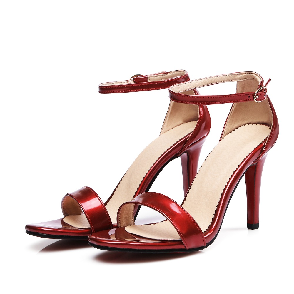 2017 Limited New Gladiator Sandals Women Sexy fashion Big Size 30-45 Lady Super High Heel wedding party Women Pumps shoes 10-13 все цены