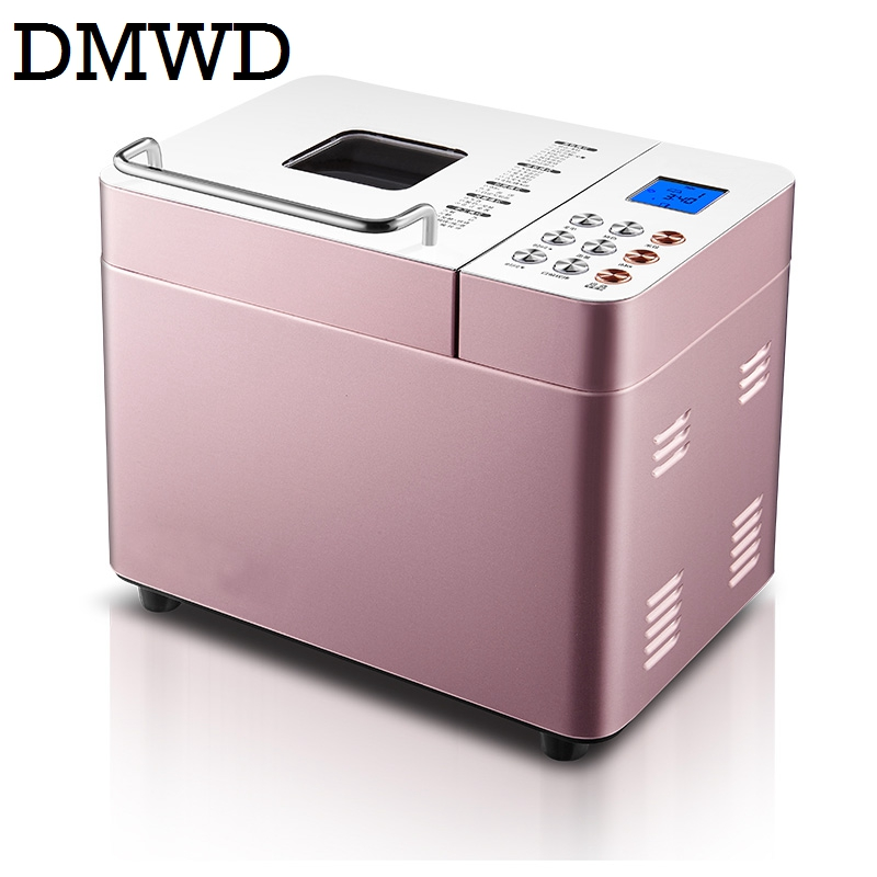 DMWD Automatic baking bread maker Toaster WIFI intelligent electric breadmaker cake yogurt ice cream making machine dough mixer цена