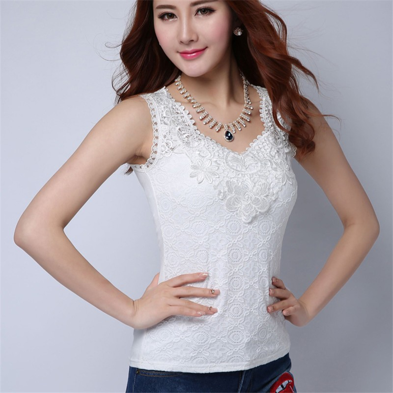HTB1xy3uKVXXXXa1XFXXq6xXFXXXJ - Plus Size Women Summer Sexy Blouse Shirt Elegant Sleeveless V Neck