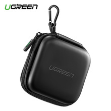 Ugreen Earphone Case Hard Headphone Bag for Apple Airpods Earpods Sennheiser Ear Pads Wireless Bluetooth Earphone