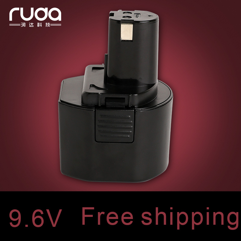 For Ryobi 9.6V 2000mAh power tool battery Ni cd,B-9620F2,B-967F1,B-963F2,1400669,BID-900,BD-72,BD-90,CTH962K,HP961,RY961