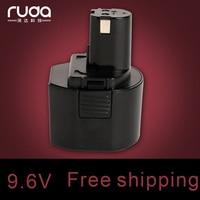 Voor Ryobi 9.6V 2000Mah Power Tool Batterij Ni Cd  B-9620F2 B-967F1 B-963F2 1400669  bod-900 BD-72 BD-90 CTH962K HP961 RY961