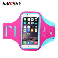 Haissky 5 5 Waterproof Sport Armbands For IPhone 6 7 Plus Xiaomi Redmi Note 4 4X