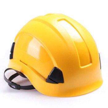 Шлем безопасности жесткий шлем ABS Строительство Защиты шлемы высокое качество работы кепки дышащая Инженерная мощность спасения шлем