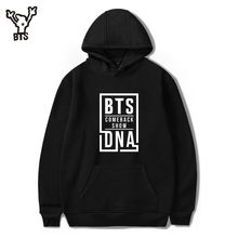 BTS LOVE YOURSELF hit song Hoodies Sweatshirts Fashion Casual Women/men Long sleeve outwear 2017 Korean Popular k-pop Clothes(China)