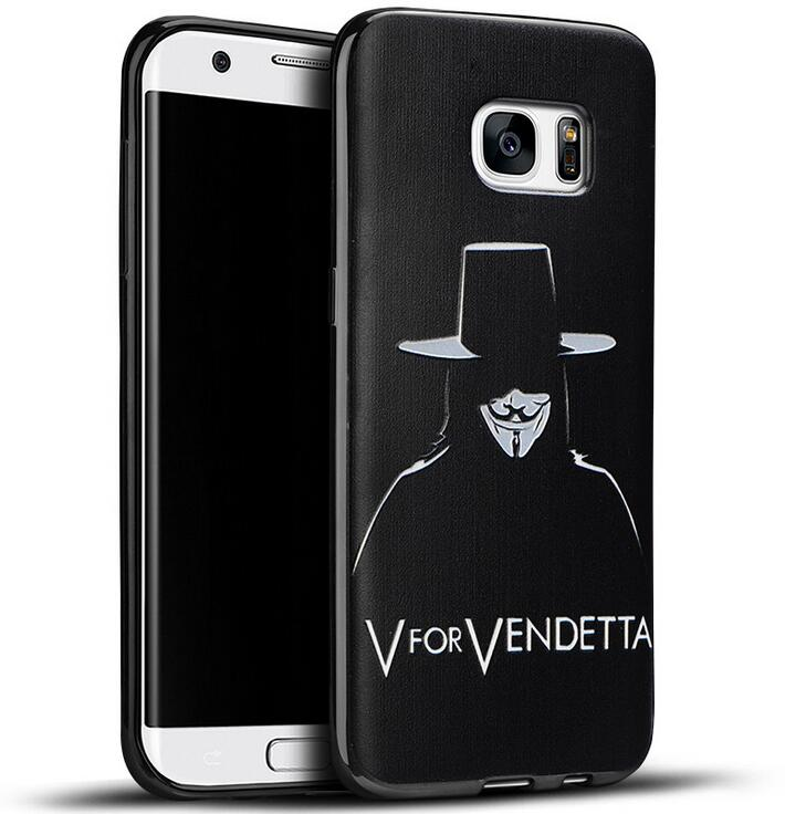 9 Designs V Vendetta <font><b>Case</b></font> for <font><b>Samsung</b></font> <font><b>Galaxy</b></font> S7 G930 <font><b>Spider</b></font> <font><b>Man</b></font> Super Mary Captain Marvel Comics Films Soft Silicon TPU Cover
