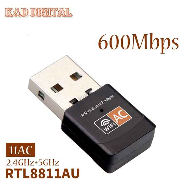 AC600 DUAL BAND WIRELESS USB ADAPTER DRIVERS PC
