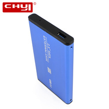 CHYI 2.5 Inch HDD Case Sata to USB3.0 Hard Drive Disk External Storage Enclosure Box with USB Cable