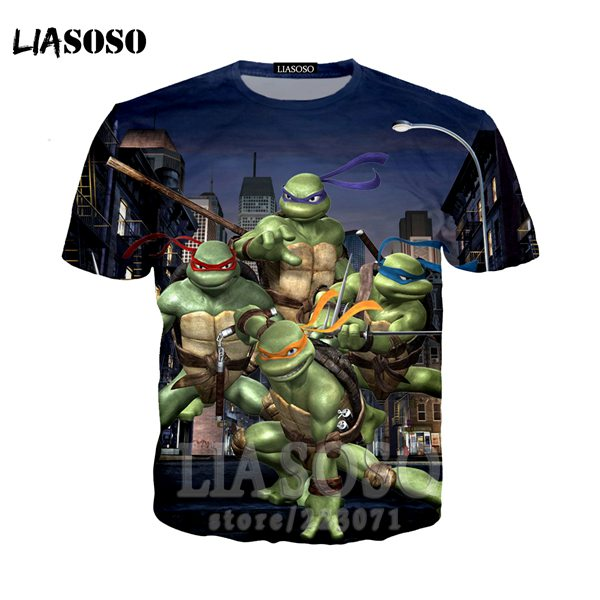 Teenage Mutant Ninja Turtles Characters T-Shirt