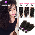 6A virgin Indian deep wave with closure modern show hair Indian virgin hair with closure Indian 3pcs hair bundles with closure