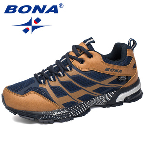 Image 4 - BONA New Classics Style Men Running Shoes Outdoor Walking Jogging Sneakers Lace Up Mesh Upper Athletic Shoes Fast Free Shipping
