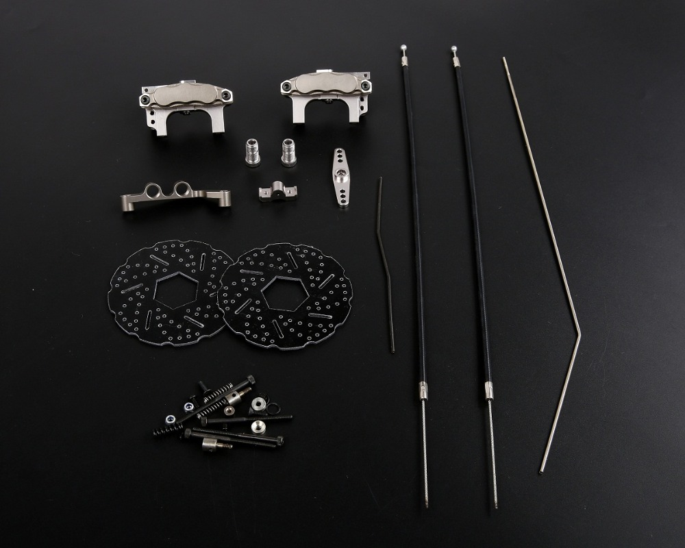 New upgrade Cable Brake system For 1/5 HPI Baja 5B 5T SS 5SC ROVAN KM 1.0 2.0 цены