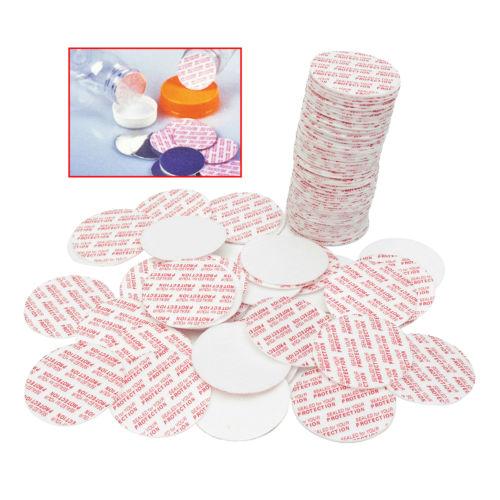 500Pcs Foam Press Seal Cap Liners Cosmetic Jar Bottle Pot Foam Safety Tamper Food Gasket Seals Pad 20mm/24mm/28mm/38mm