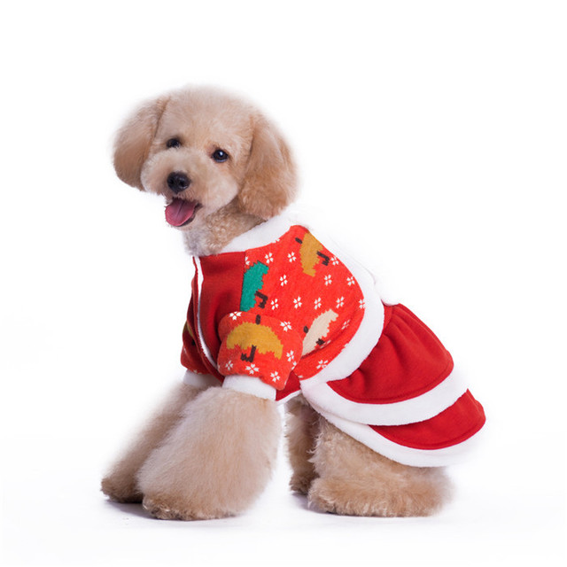 Can mix size wholesale XS size little pet christmas clothing for puppy dogs  costume for christmas - Can Mix Size Wholesale XS Size Little Pet Christmas Clothing For