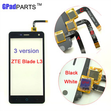 5 0 inch New Touch Screen Digitizer Panel For ZTE Blade L3 Front Glass Touchscreen Sensor