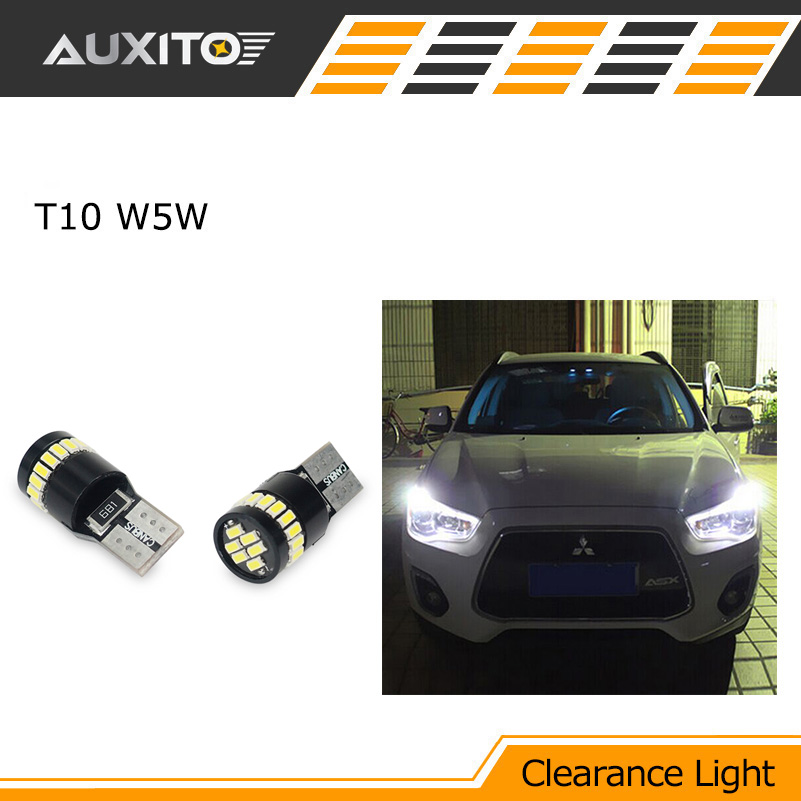 T10 LED W5W LED Car LED 12V Auto Lamp Clearance Light Parking For mitsubishi asx lancer 9 10 pajero outlander l200 colt galant for mitsubishi asx lancer 10 9 outlander pajero sport colt carisma canbus l200 w5w t10 5630 smd car led clearance parking light