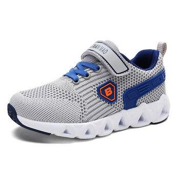 3a51b2e8fd9 UOVO zapatos para niños de estilo de carreras zapatos transpirables para  niños y niñas zapatillas de deporte para niños zapatos de otoño Eur28-35