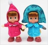 Детский подарок популярная Маша милые плюшевые куклы медведь Высокое качество русская Маша мягкие игрушки