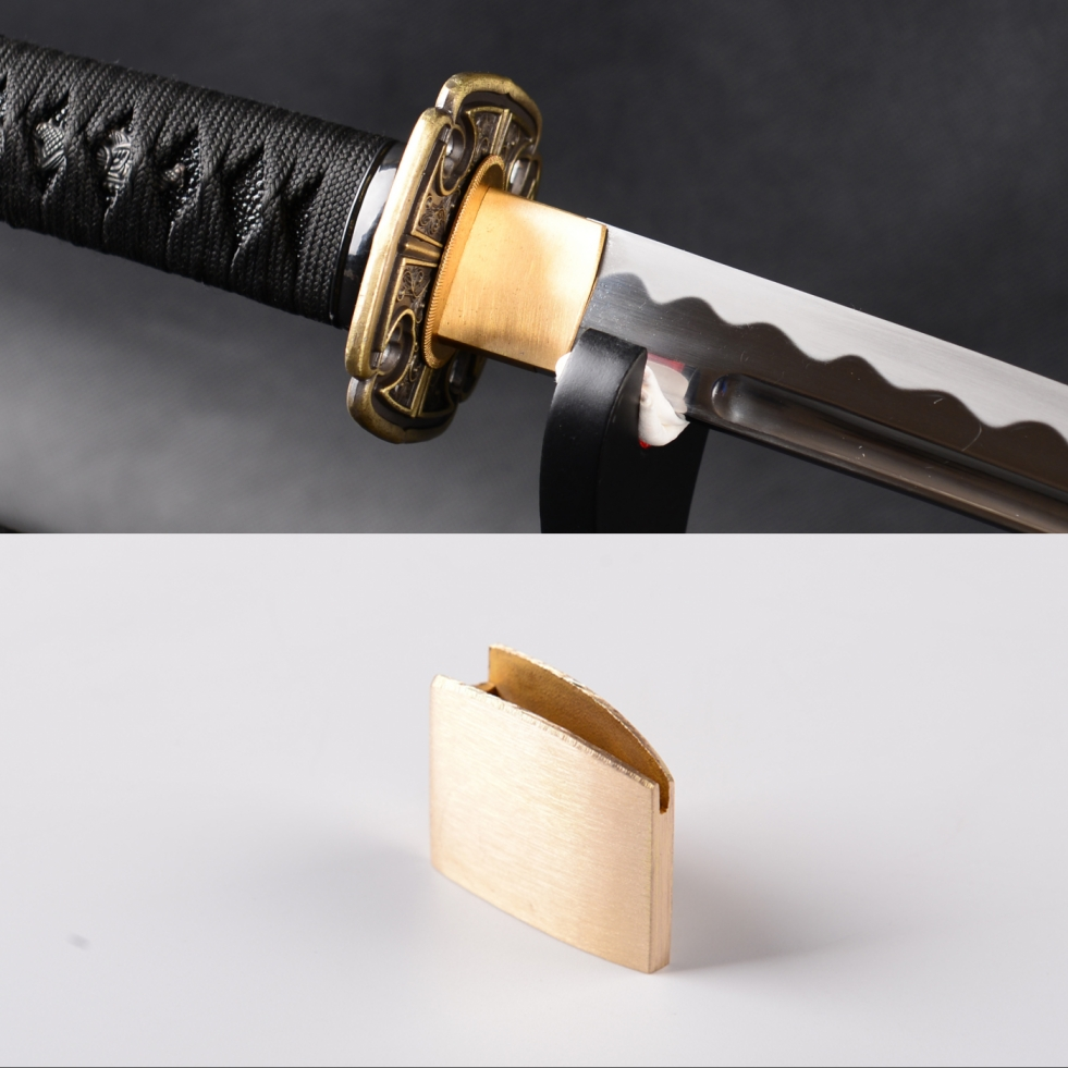 High Quality New Brass Habaki Blade Collar For Japanese Samurai Sword Katana Wakizashi Tanto Nice Sword Accessory Mounting DZ01