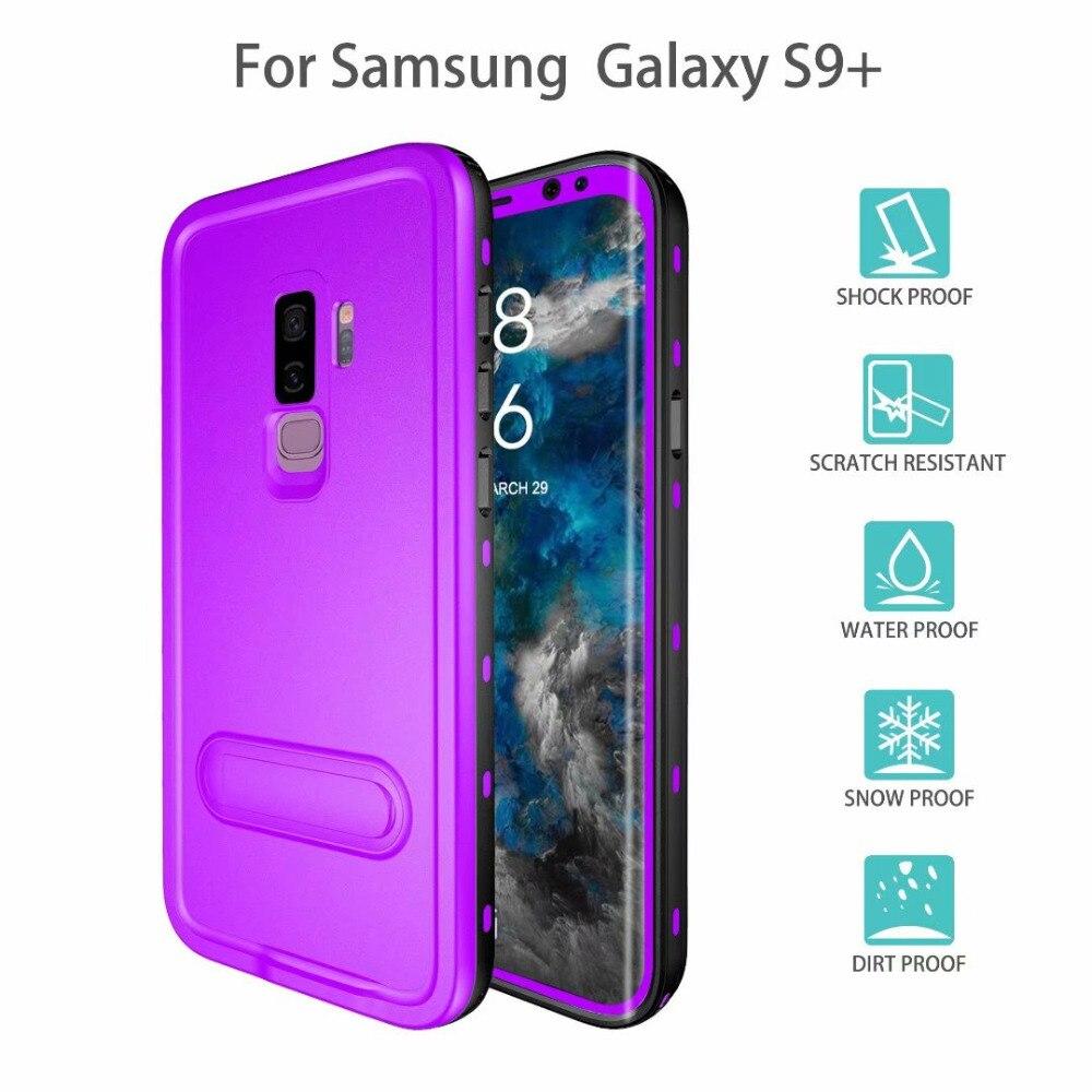 Waterproof Case for Samsung Galaxy S9, Ultra light Waterproof shockproof Dirtproof Diving Phone