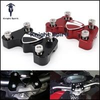 For DUCATI MONSTER 696 2008 2014 Motorcycle Accessories CNC billet aluminum handlebar handlebar 3D Logo