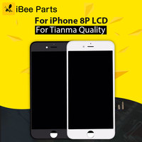 IBee Parts 5PCS For Tianma Grade AAA For IPhone 8 Plus LCD Display Screen Replacement Lens